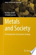 Metals and Society