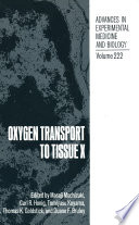 Oxygen Transport to Tissue X