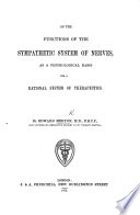 On the Functions of the Sympathetic System of Nerves