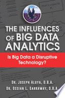 The Influences Of Big Data Analytics Book PDF