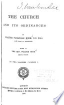 The Church and Its Ordinances Book