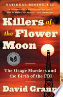 Killers of the Flower Moon David Grann Cover