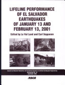 Pdf Lifeline Performance of El Salvador Earthquakes of January 13 and February 13, 2001