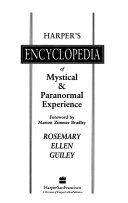 Harper s Encyclopedia of Mystical   Paranormal Experience