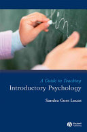 A Guide to Teaching Introductory Psychology Book PDF