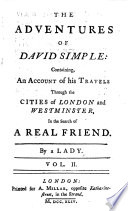 The Adventures of David Simple Book