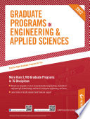 Peterson's Graduate Programs in Engineering & Applied Sciences 2012