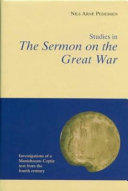 Studies in the Sermon on the Great War