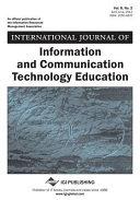 International Journal of Information and Communication Technology Education  IJICTE   Volume 8