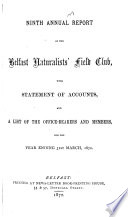 Annual Report and Financial Statement