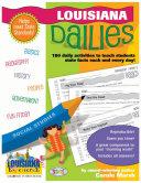 Louisiana Dailies  180 Daily Activities for Kids