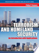 Terrorism and Homeland Security