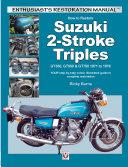 How to Restore Suzuki 2 Stroke Triples GT350  GT550   GT750 1971 to 1978