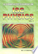 A Complete Course in ISC Physics