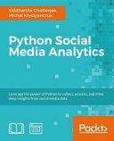 Python Social Media Analytics Book