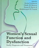 Women s Sexual Function and Dysfunction Book