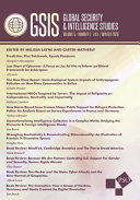 Global Security and Intelligence Studies