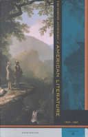 The Norton Anthology Of American Literature American Literature 1820 1865