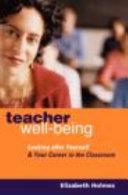 Teacher Well being