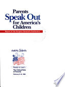 Parents Speak Out for America s Children