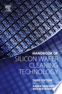 Handbook of Silicon Wafer Cleaning Technology Book