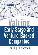 Valuing Early Stage and Venture-Backed Companies