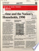 Crime And The Nation S Households