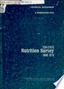 Highlights, Ten-state Nutrition Survey, 1968-70