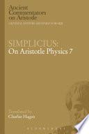 Simplicius  On Aristotle Physics 7