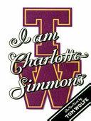 I Am Charlotte Simmons Book PDF