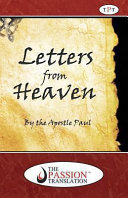 Letters from Heaven by the Apostle Paul