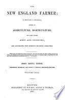 The New England Farmer Book PDF