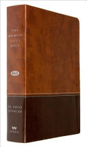 The Jeremiah Study Bible Nkjv Dark Medium Brown Leatherluxe  Book PDF