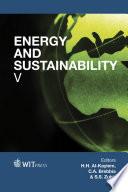 Energy and Sustainability V