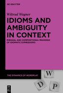 Idioms and Ambiguity in Context Pdf/ePub eBook