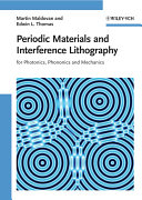 Periodic Materials and Interference Lithography