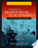 Introduction To Geophysical Fluid Dynamics Book PDF