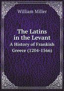 Pdf The Latins in the Levant