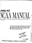 NCAA Manual