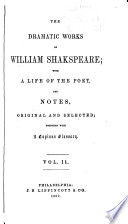 The Dramatic Works of William Shakespeare  Taming of the shrew  Winter s tale  Comedy of errors  Macbeth  King John  King Richard II  First part of King Henry IV  Second part of King Henry IV  King Henry V  First part of King Henry VI