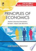 Principles of Economics  CCS University