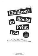 Children S Books In Print