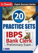IBPS BANK CLERK Practice Sets-Preliminary Examination (English)