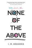 None of the Above I. W. Gregorio Cover