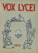Vox Lycei 1944 1945