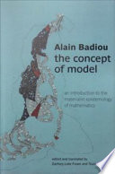 The Concept of Model
