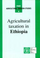 Agricultural Taxation in Ethiopia