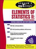 Schaum s Outline of Elements of Statistics II  Inferential Statistics