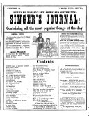 Henry De Marsan s New Comic and Sentimental Singer s Journal