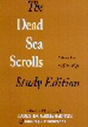 The Dead Sea Scrolls Study Edition